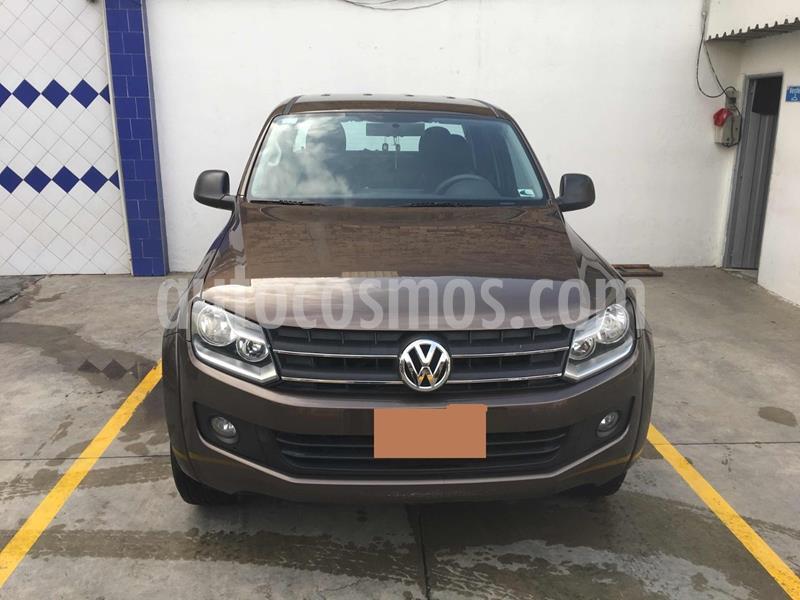 Volkswagen Amarok 4x4 TDi Highline Aut usado (2013) color Marron precio $58.000.000