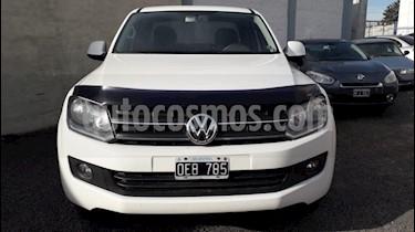 Volkswagen Amarok DC 4x2 Highline (180Cv) usado (2014) color Blanco precio $869.900