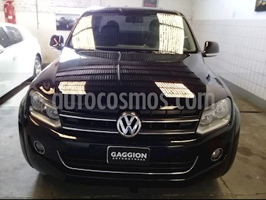 Foto venta Auto usado Volkswagen Amarok DC 4x2 Highline (2011) color Negro Profundo