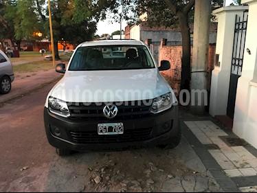 Foto venta Auto usado Volkswagen Amarok DC 4x2 Startline (2015) color Blanco Candy precio $655.000