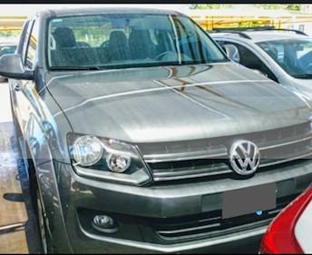 Foto venta Auto usado Volkswagen Amarok DC 4x2 Trendline (180Cv)  (2015) color Gris precio $815.000