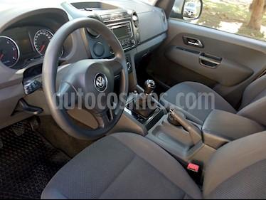 Foto venta Auto usado Volkswagen Amarok DC 4x2 Trendline (180Cv) (2014) color Gris precio $740.000