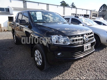 Foto venta Auto usado Volkswagen Amarok DC 4x2 Trendline (180Cv)  (2014) color Negro precio $899.900