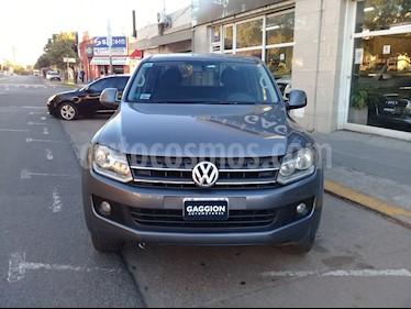 Foto venta Auto usado Volkswagen Amarok DC 4x2 Trendline (180Cv) (2012) color Gris