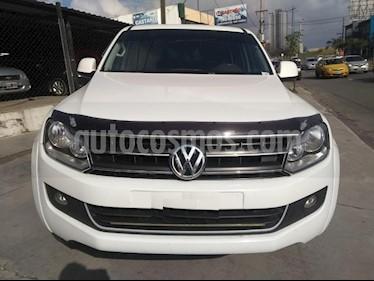 Foto venta Auto usado Volkswagen Amarok DC 4x4 Dark Label Aut  (2016) color Blanco precio $1.150.000