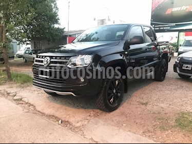 Foto venta Auto usado Volkswagen Amarok DC 4x4 Dark Label Aut  (2015) color Negro precio $1.380.000