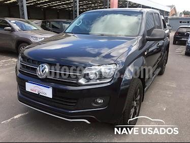 Foto venta Auto usado Volkswagen Amarok DC 4x4 Dark Label (2016) color Negro precio $1.350.000