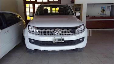 Foto venta Auto usado Volkswagen Amarok DC 4x4 Highline (180Cv) (2015) color Blanco precio $740.000