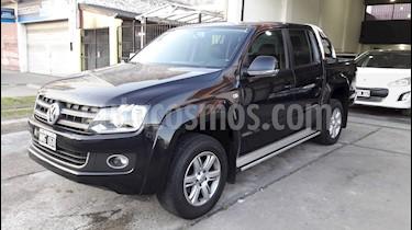 Foto venta Auto usado Volkswagen Amarok DC 4x4 Highline Pack (180Cv) Aut Cuero (2014) color Negro Profundo precio $1.150.000