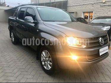 Foto venta Auto usado Volkswagen Amarok DC 4x4 Highline Pack (180Cv) Aut (2013) color Gris Oscuro precio $830.000