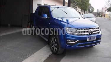 Volkswagen Amarok DC 4x4 Highline V6 Aut usado (2018) color Azul precio $2.549.900