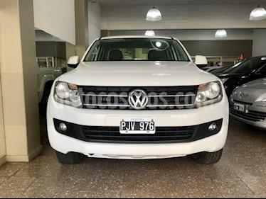 Foto venta Auto usado Volkswagen Amarok DC 4x4 Trendline (180Cv) Aut  (2015) color Blanco Cristal precio $900.000