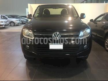 Foto venta Auto usado Volkswagen Amarok DC 4x4 Trendline (180Cv) Aut (2014) color Negro precio $750.000
