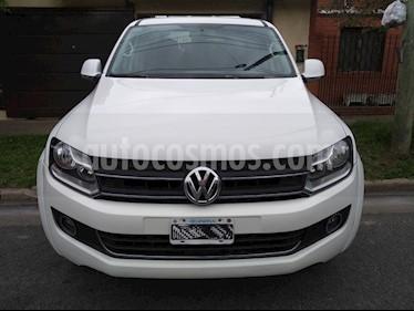 Foto venta Auto usado Volkswagen Amarok DC 4x4 Trendline (180Cv)  (2013) color Blanco precio $600.000
