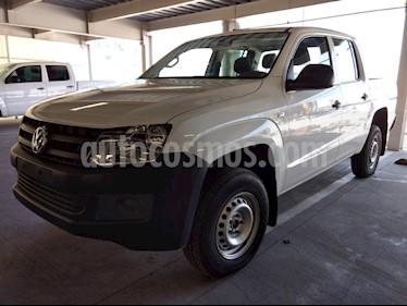 Foto venta Auto usado Volkswagen Amarok Entry 4x2 Gasolina (2017) color Blanco precio $398,000