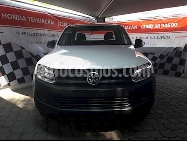 Foto Volkswagen Amarok Entry 4x2 TDi  usado (2017) color Blanco Candy precio $295,000