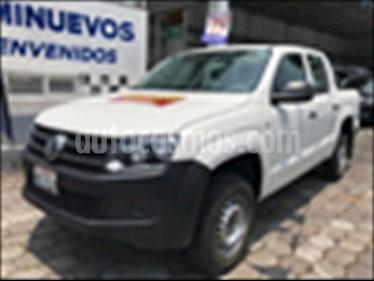 Volkswagen Amarok Entry 4x2 TDi  usado (2017) color Blanco precio $299,500