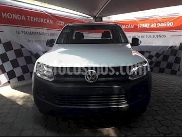 Foto venta Auto usado Volkswagen Amarok Entry 4x2 TDi  (2017) color Blanco Candy precio $305,000