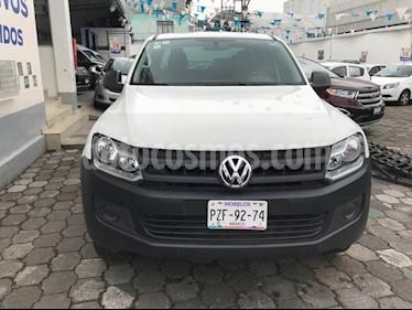 Foto venta Auto Seminuevo Volkswagen Amarok Entry 4x2 TDi  (2017) color Blanco precio $309,000