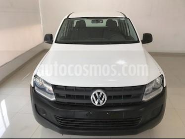 Foto Volkswagen Amarok Entry 4x2 TDi  usado (2017) color Blanco Candy precio $277,900