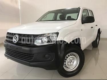 Foto Volkswagen Amarok Entry 4x2 TDi  usado (2017) color Blanco Candy precio $277,000
