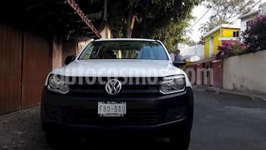 Volkswagen Amarok Entry 4x2 TDi  usado (2016) color Blanco precio $269,000