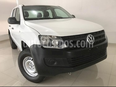 Foto Volkswagen Amarok Entry 4x2 TDi  usado (2017) color Blanco precio $279,000