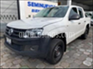 Volkswagen Amarok Entry 4x2 TDi  usado (2017) color Blanco precio $294,900