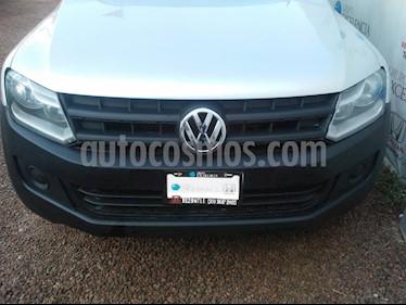 Foto venta Auto Seminuevo Volkswagen Amarok Entry 4x4 Gasolina (2016) color Plata precio $280,000