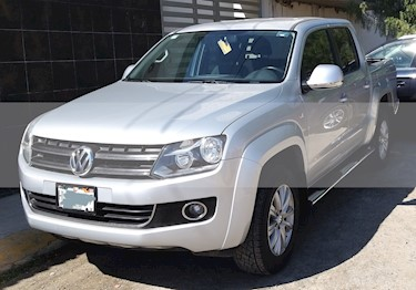 Volkswagen Amarok Highline 4x2 TDi usado (2012) color Plata precio $260,000
