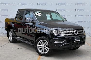 Foto venta Auto usado Volkswagen Amarok Highline Aut 4Motion (2018) color Negro Profundo precio $589,000