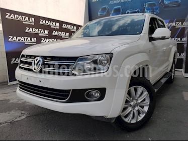 Foto venta Auto usado Volkswagen Amarok Highline Aut 4Motion  (2016) color Blanco Candy precio $359,900