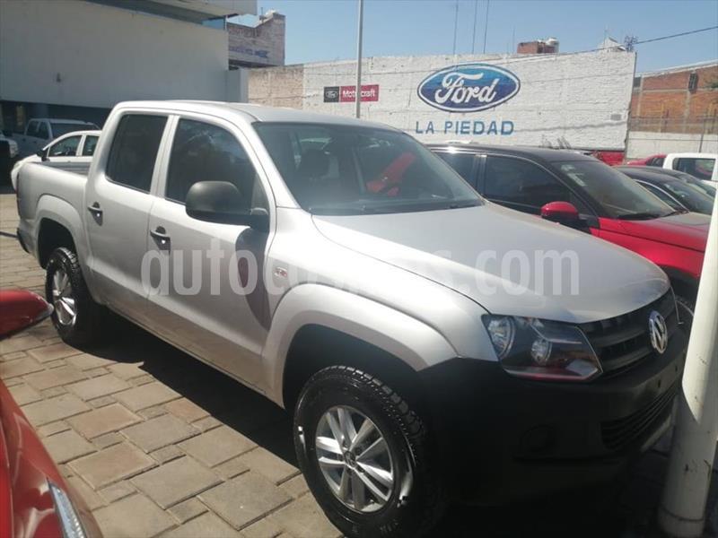Volkswagen Amarok Entry 4x4 TDi usado (2016) color Plata precio $304,000