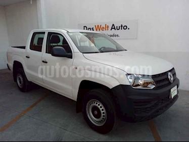 Volkswagen Amarok 4p Trendline L4/2.0/TDI Man 4x4 usado (2019) color Blanco precio $440,000