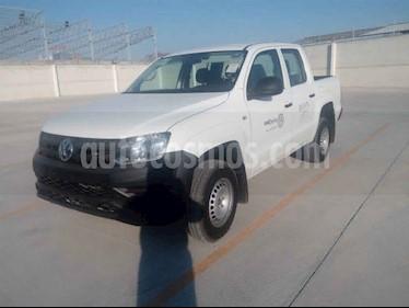 Volkswagen Amarok 4p Trendline L4/2.0/TDI Man 4x4 usado (2018) color Blanco precio $435,000