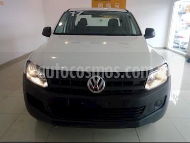 Volkswagen Amarok Entry 4x4 TDi usado (2017) color Blanco precio $320,000