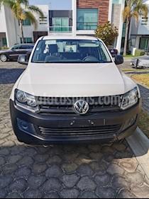 Volkswagen Amarok Entry 4x4 TDi usado (2017) color Blanco precio $260,000