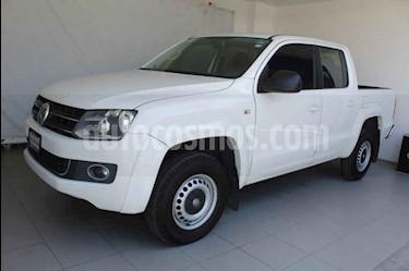 Volkswagen Amarok Entry 4x4 TDi usado (2014) color Blanco precio $269,000