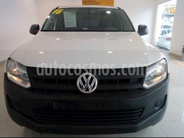 Volkswagen Amarok Entry 4x2 TDi  usado (2016) color Blanco precio $270,000