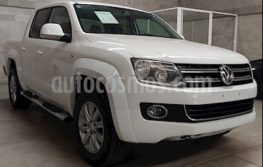Foto Volkswagen Amarok Highline Aut 4Motion  usado (2016) color Blanco Candy precio $399,000