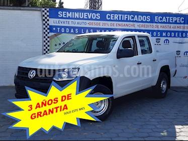 Volkswagen Amarok Entry 4x4 TDi usado (2016) color Blanco Candy precio $279,000