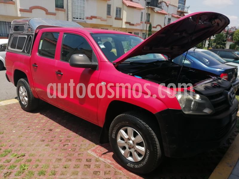 Volkswagen Amarok Startline Aut 4Motion usado (2014) color Rojo Tornado precio $225,000