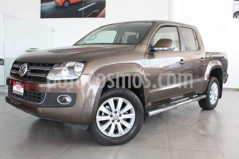 Volkswagen Amarok Highline Aut 4Motion  usado (2016) color Marron precio $370,000