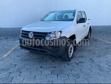 Volkswagen Amarok Trendline 4x4 TDi usado (2019) color Blanco Candy precio $445,000