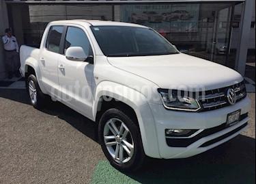Volkswagen Amarok Highline 4x4 TDi usado (2018) color Blanco precio $560,000