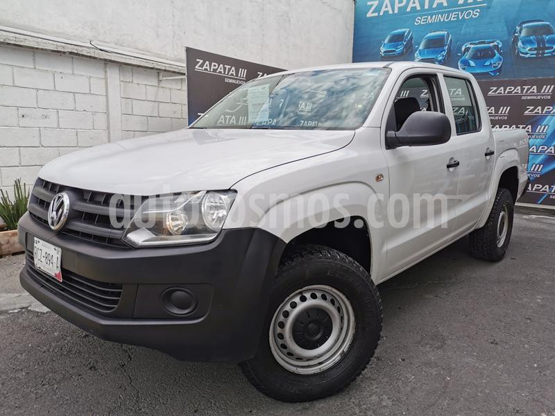 Volkswagen Amarok Entry 4x2 Gasolina usado (2017) color Blanco Candy precio $280,000