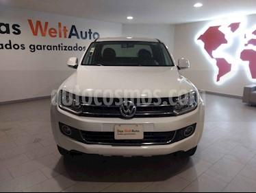 Volkswagen Amarok Highline 4x2 Gasolina usado (2014) color Blanco precio $295,000
