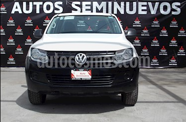 Volkswagen Amarok Entry 4x2 TDi  usado (2017) color Blanco Candy precio $294,000