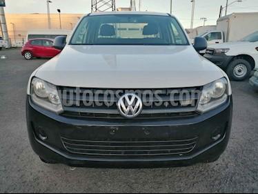 Volkswagen Amarok 4p Entry L4/2.0/TDI Man 4x4 usado (2017) color Blanco precio $289,000