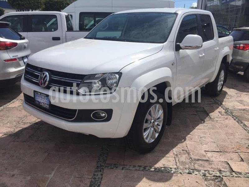 Volkswagen Amarok Entry 4x2 TDi  usado (2016) color Blanco precio $389,000
